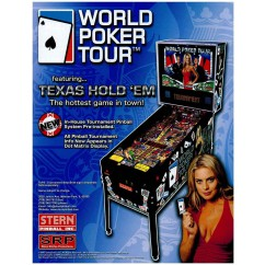 World Poker Tour  rubber kit - white
