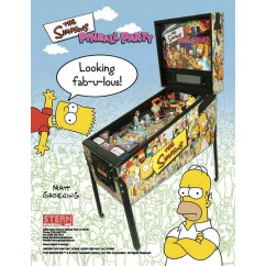 The Simpsons Pinball Party  rubber kit - white