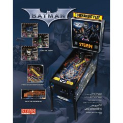 BATMAN DARK KNIGHT BY STERN RUBBER KIT IN BLACK