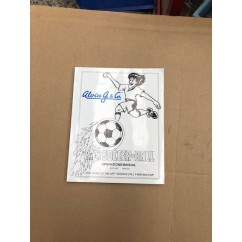 A.G. SOCCER BALL manual