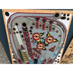 TERMINATOR 2 JUDGMENT DAY USED PLAYFIELD