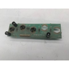 5 lamp pcb assembly USED and Untested Board