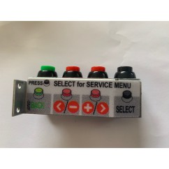 Stern 4-Button Service Assembly WITH DECAL
