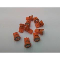 PSPA 555  SUPER BRIGHT ORANGE LED pack of ten
