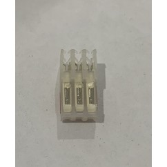 3 R CONNECTOR IDC mt/thru  22/.100