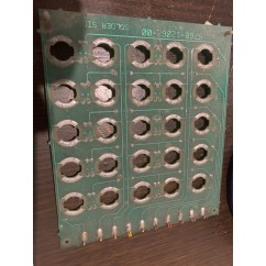Pinbot lamp Visor Insert Bulb Matrix PCB USED and untested