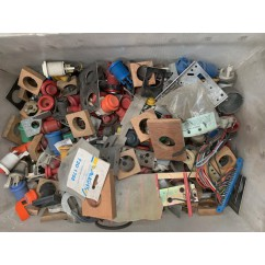 MIXED ARCADE buttons and bits 11 kg worth approx