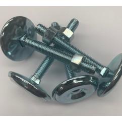 """Standard pinball machine leg leveler with a 3"""" shaft set of 4"""