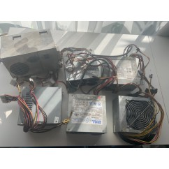 OLD power Supplies sold as is   bulk lot