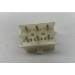 CONNECTOR .084 6 pin