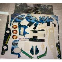 Avatar pinball plastic set