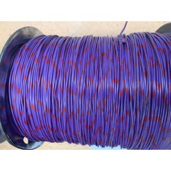 wire 22 g  purple and red