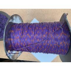 wire 22 g  purple and orange