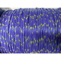 wire 18 g  purple and yellow