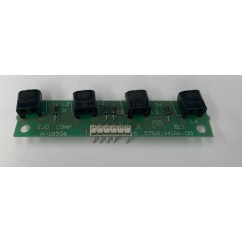 4 lamp pcb assembly USED