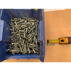 bulk lot of machine bolts