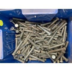BULK  LOT OF PINBALL  apprx 3 kg bolts