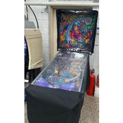 Waterproof Pinball Cover with clear top and bottom piece as per picture