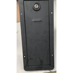 coin door , keys included