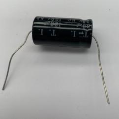 capacitor 100 mfdnp 100v 10 axial