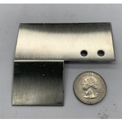Metal bracket top plate