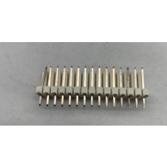"Connector .100"" 15 Position Male Header Pin"