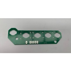 5 lamp pcb assembly blank board