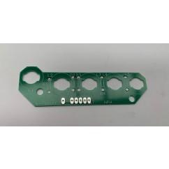 5 lamp pcb assembly blank board