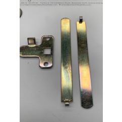 coin door lock parts