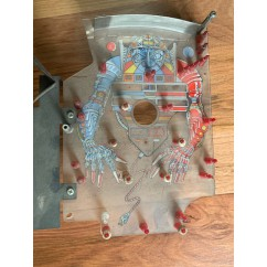 THE MACHINE BRIDE OF PINBOT USED Mini Playfield