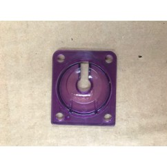 Eject shield - violet