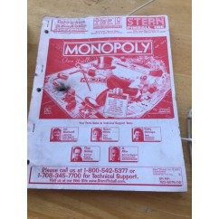 Monopoly manual second hand