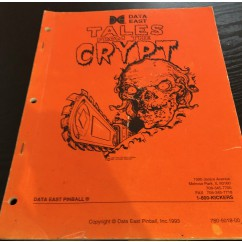 Tales From The Crypt  USED manual