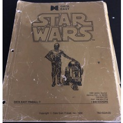 Star Wars USED manual