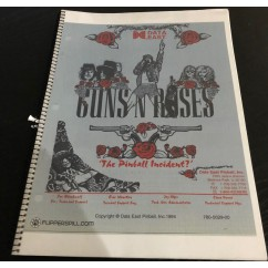 Guns N Roses USED manual