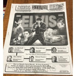 Elvis USED manual
