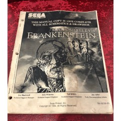 Mary Shelley's Frankenstein USED manual