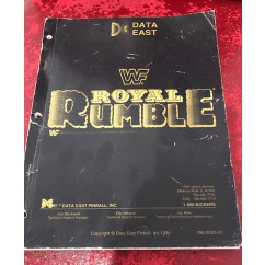 WWF royal rumble  USED manual