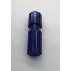"""Post 1-1/4"""" Narrow Plastic Posts blue ( dark)"""