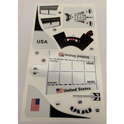 Space Shuttle decals