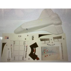 Williams Space Shuttle with decals