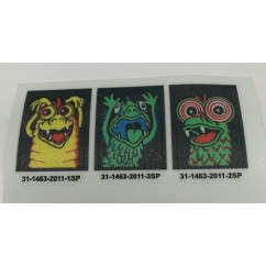 Elvira and the Party Animals Target Decals