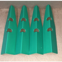 Leg Protector set of 4 green