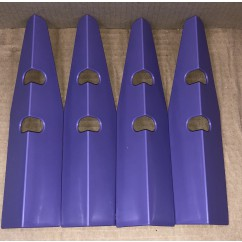 Leg Protector set of 4 purple
