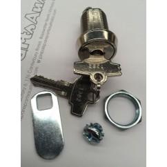 pinball door lock complete 1 1/8 deep