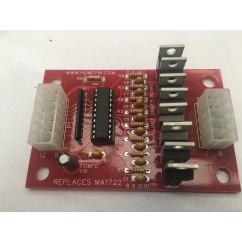 Gottlieb / Premier System 3 pinball machine auxiliary driver board MA-1722