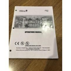 Monster Bash  USED manual