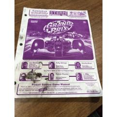 Grand Prix  USED manual