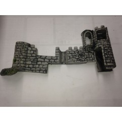 Medieval Madness castle right side 31-2826-1B ALL HAVE SOME CRACKS or DAMAGE