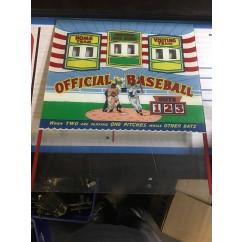 Williams Official Baseball Backglass